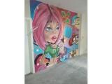 Квартира с граффити в ЖК Венеция (водопровод, отопление, канализация)