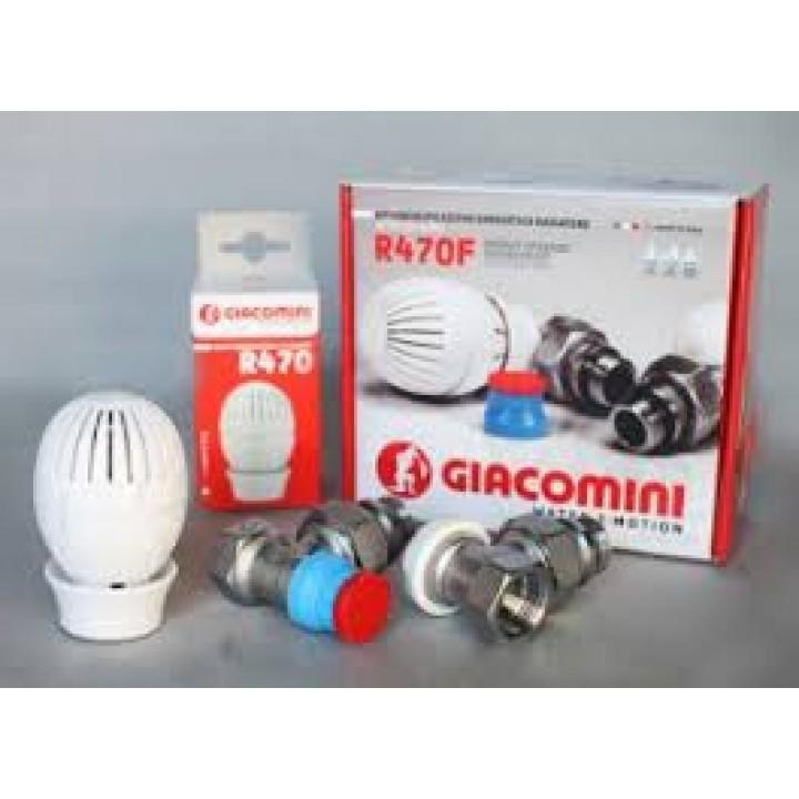 Комплект радиаторный Giacomini R470F 1/2, угловой