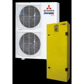 Тепловой насос (воздух-вода) HeatGuard 100NX мощностью 11 кВт