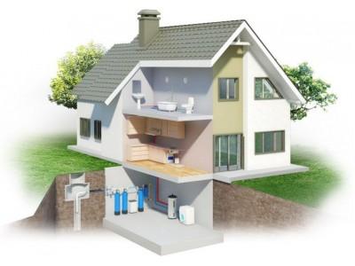Системы очистки воды для частных домов