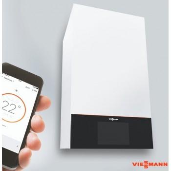 Газовый конденсационный одноконтурный котел Viessmann Vitodens 200-W B2HE 19 кВт