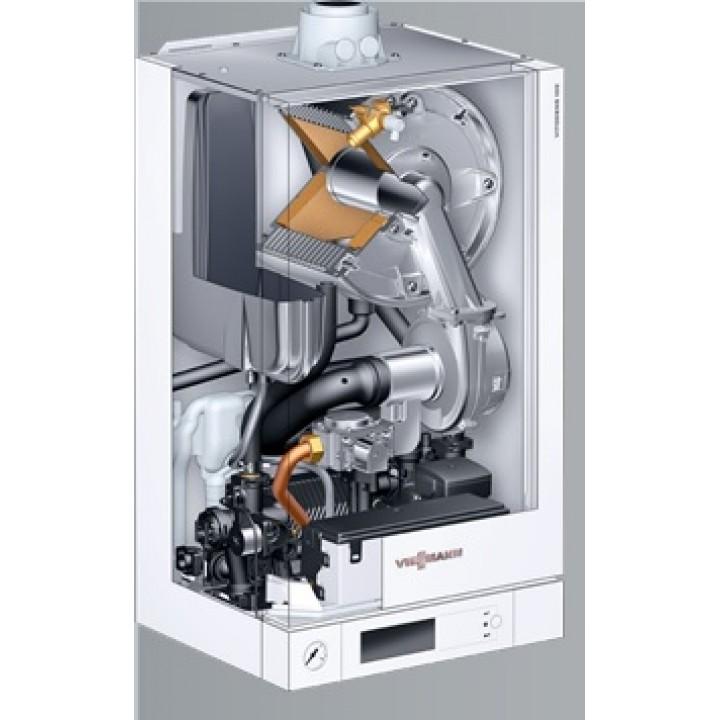 Газовый конденсационный двухконтурный котел Viessmann Vitodens 100-W 35 кВт
